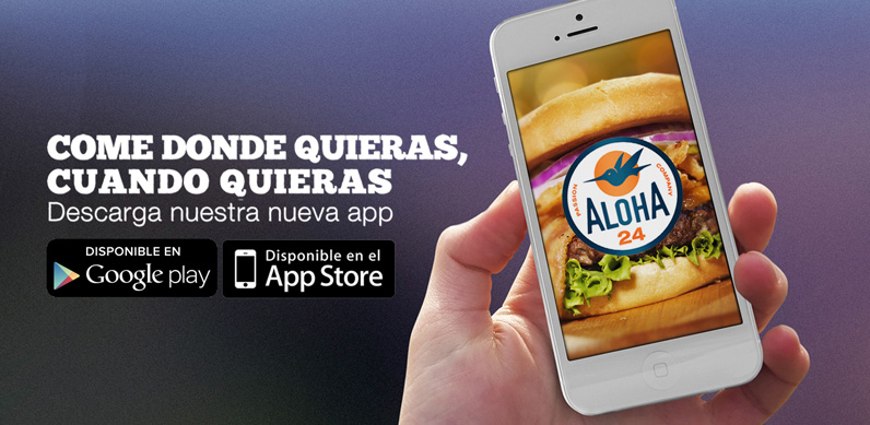 La app de Aloha24 disponible para Android y Apple iOS
