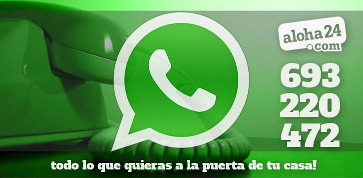 Ahora puedes hacer pedidos por Whatsapp